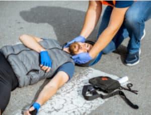 pedestrian knockdowns