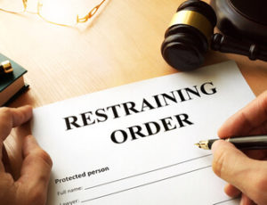 protective restraining order