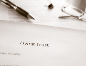 revocable irrevocable living trusts